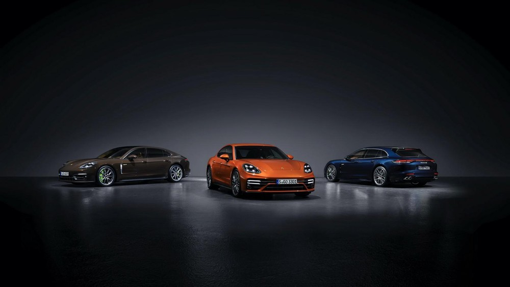 3 kiểu dáng thân xe của Porsche Panamera 2021
