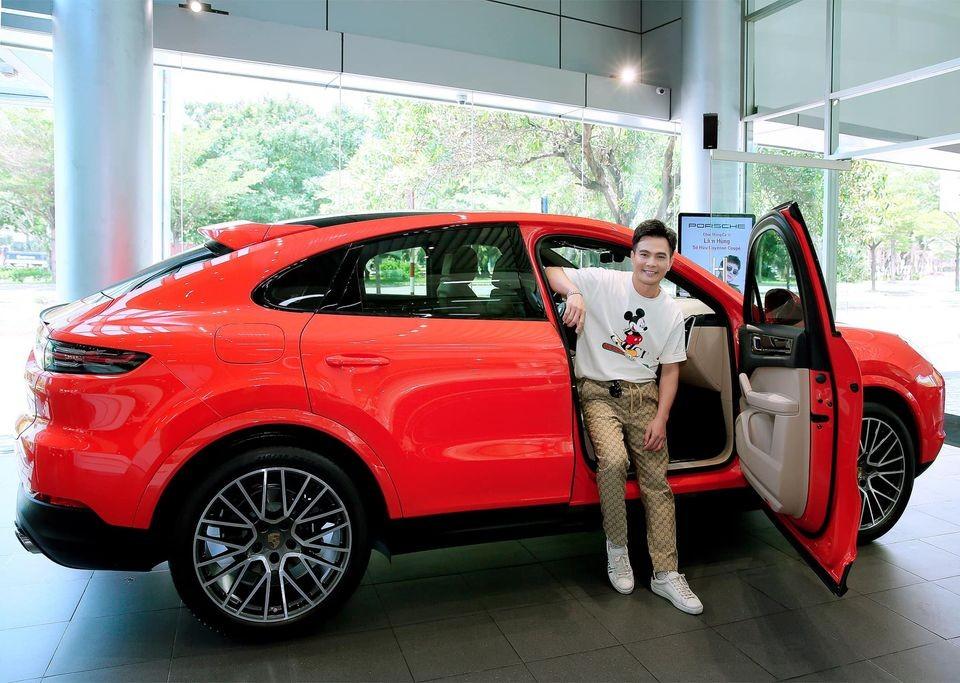 Lâm Hùng cho biết mình phải bỏ ra gần 7 tỷ đồng để sở hữu Porsche Cayenne Coupe 2020