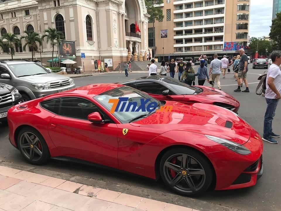 Chia tay mảnh đất Tây Ninh, Ferrari F12 Berlinetta về lại Sài thành với giá chào bán 15 tỷ đồng