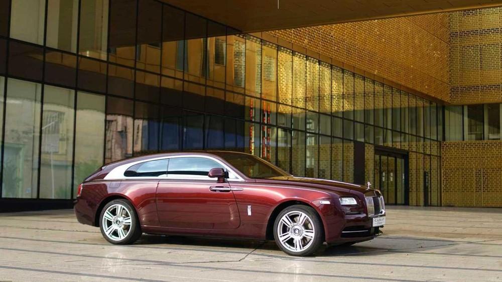 Chiếc Rolls-Royce Wraith mang phong cách shooting brake của một đại gia Bỉ