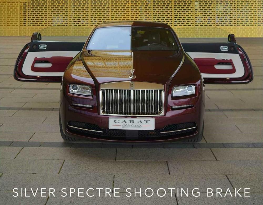 Nhìn trực diện, chiếc xe này trông chẳng khác gì Rolls-Royce Wraith nguyên bản