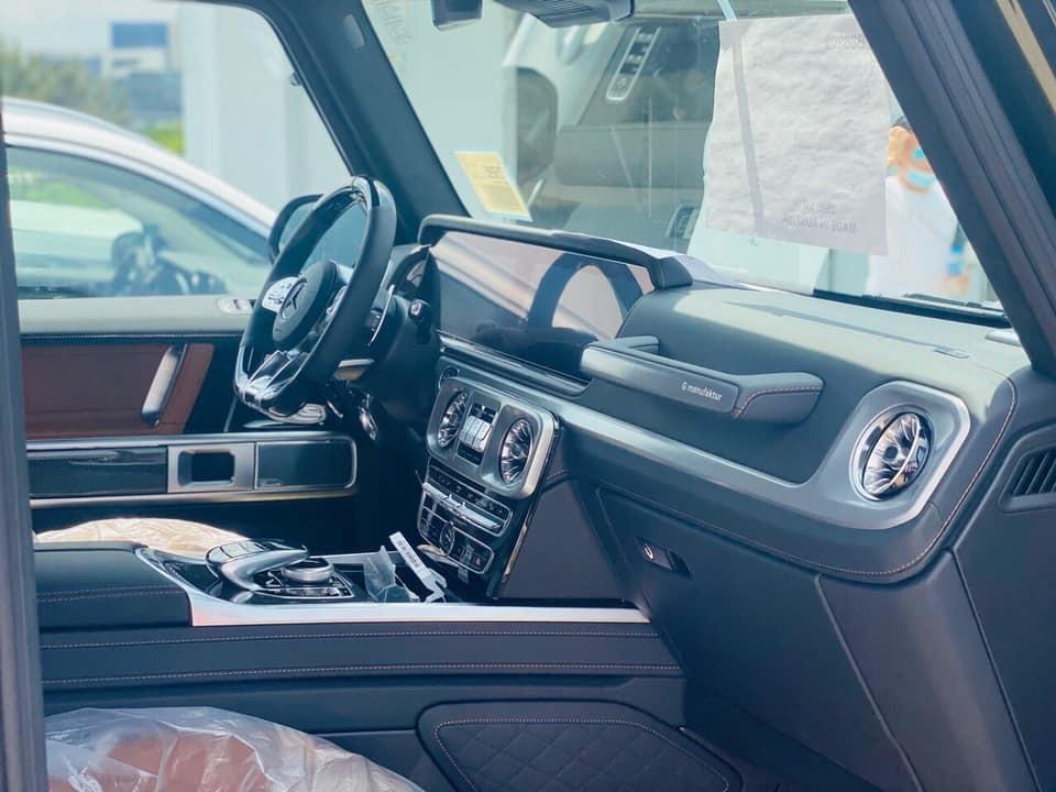 3 tuỳ chọn của chiếc Mercedes-AMG G63 màu xanh Olive có giá hơn nửa tỷ đồng