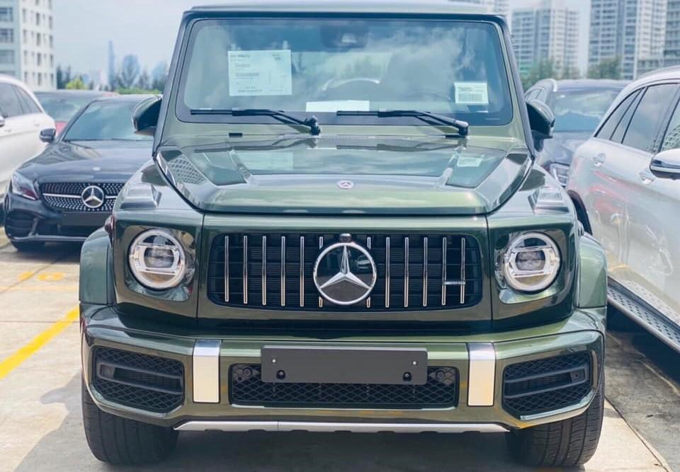 Màu sơn của chiếc xe này đã có giá lên đến 255 triệu đồng