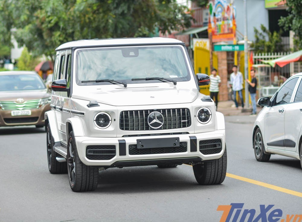 Mercedes-AMG G63 Edition 1 trắng