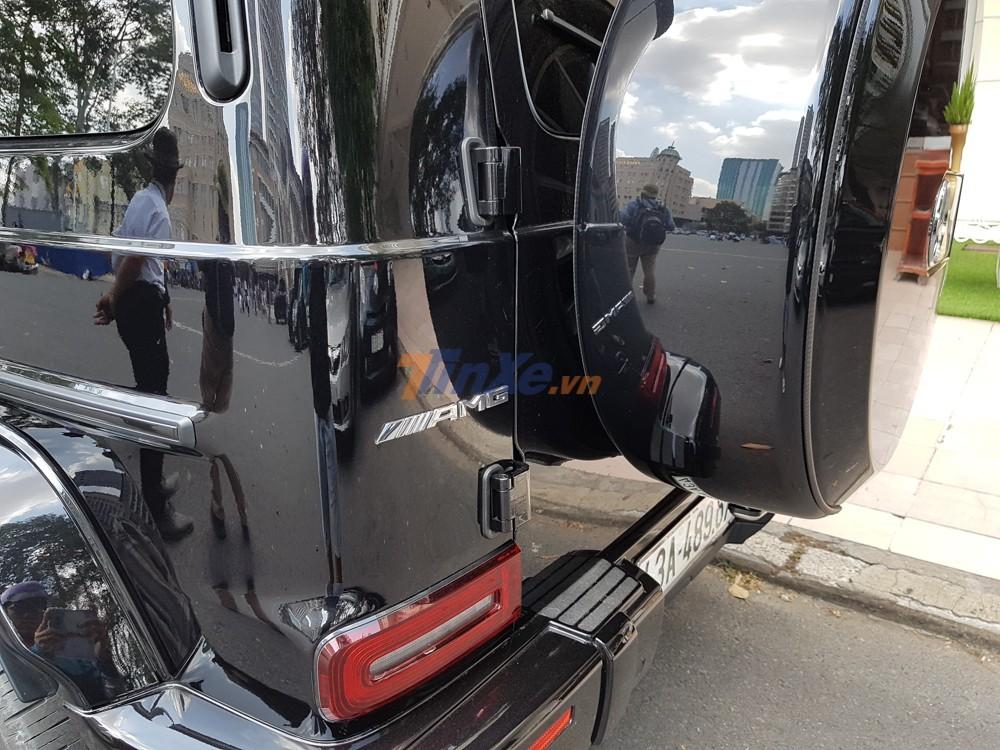 Đèn hậu của Mercedes-AMG G63 Edition 1