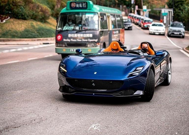 Vẻ đẹp của siêu xe Ferrari Monza SP ngoài đời thực