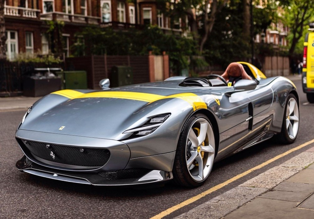 Đây là siêu xe Ferrari Monza SP1