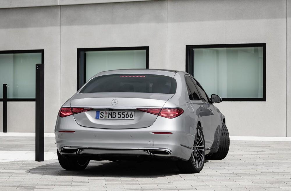 Mercedes-Benz S-Class 2021 tại Mỹ chỉ có bản S500 4Matic và S580 4Matic
