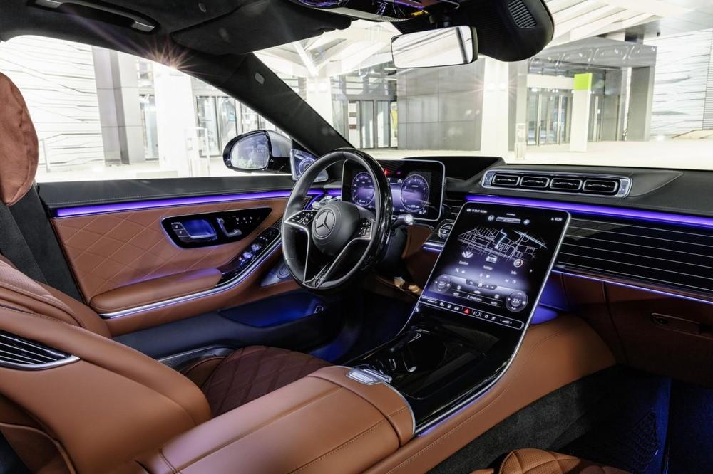 Nội thất bên trong Mercedes-Benz S-Class 2021