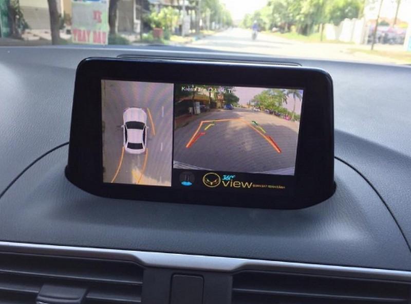 Camera 360 ô tô là giải pháp xóa điểm mùa tối ưu.