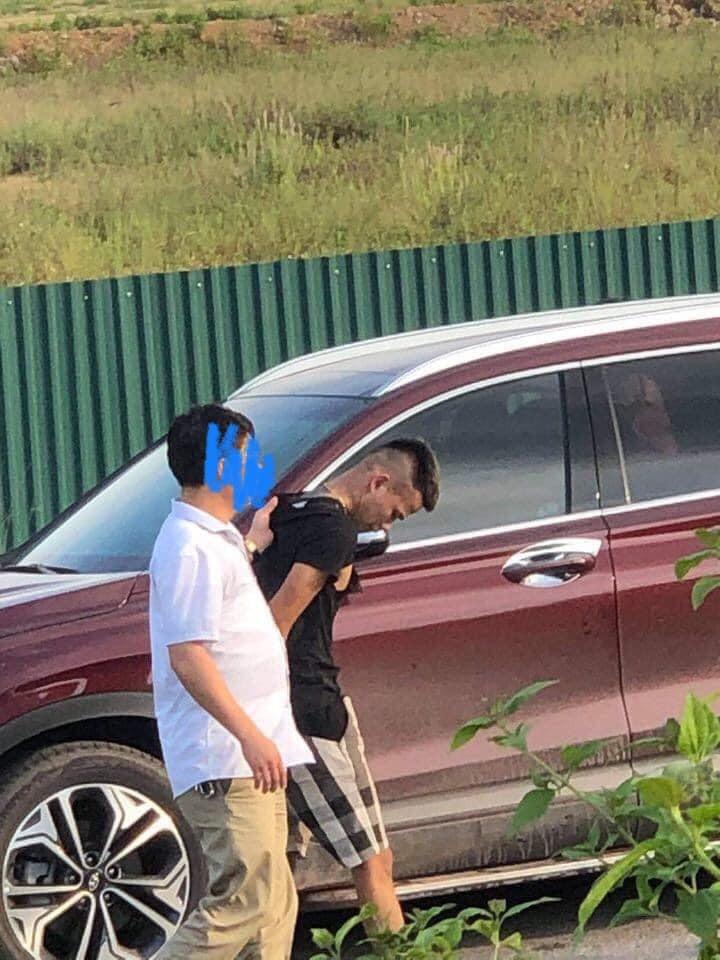 Phụ xe của chiếc ô tô khách bị bắt giữ