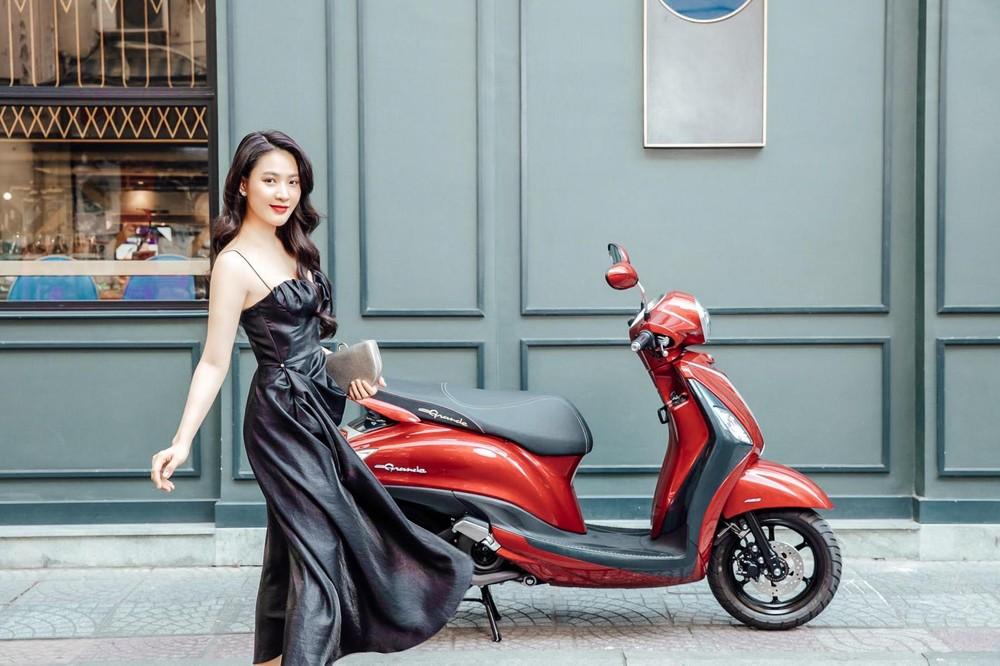 Yamaha Grande là mẫu xe tay ga phổ thông tiết kiệm nhiên liệu nhất hiện nay