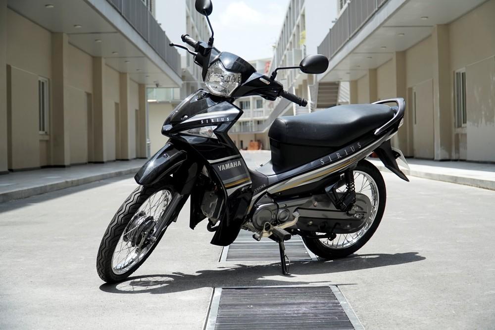 Sirius Fi – mẫu xe số tiết kiệm nhiên liệu số 1 Việt Nam