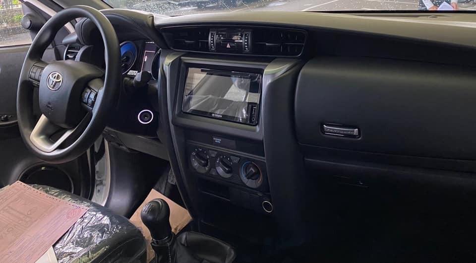 Tổng thể nội thất của Toyota Fortuner 2020 vẫn được giữ nguyên nhưng có thêm một số trang bị, tiện nghi mới