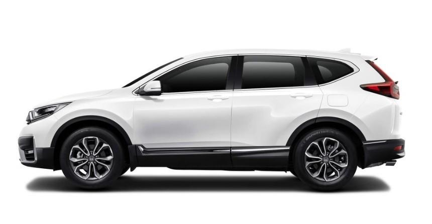 Honda CR-V phiên bản màu trắng ngà tinh tế