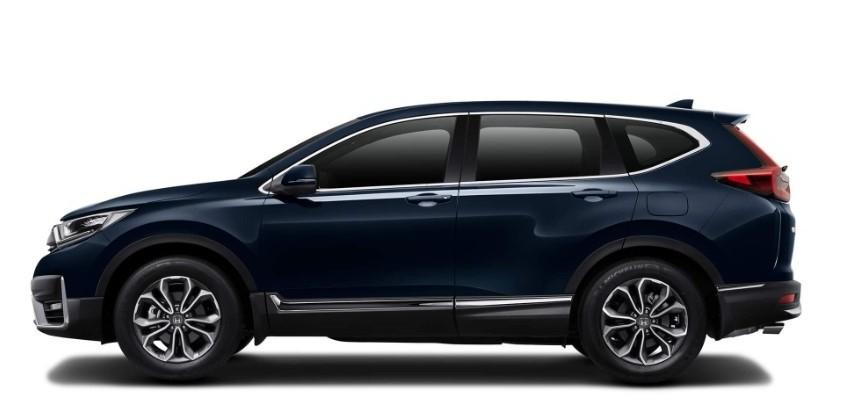 Honda CR-V xanh cá tính