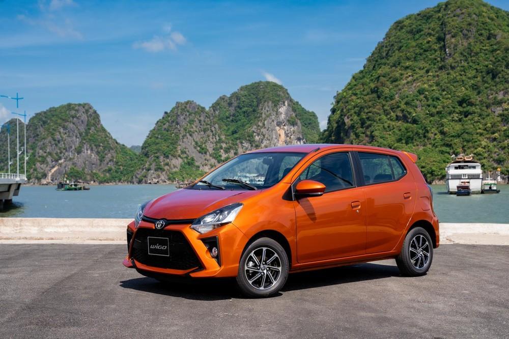 Giá xe Toyota Wigo ở mức từ 352 - 385 triệu đồng