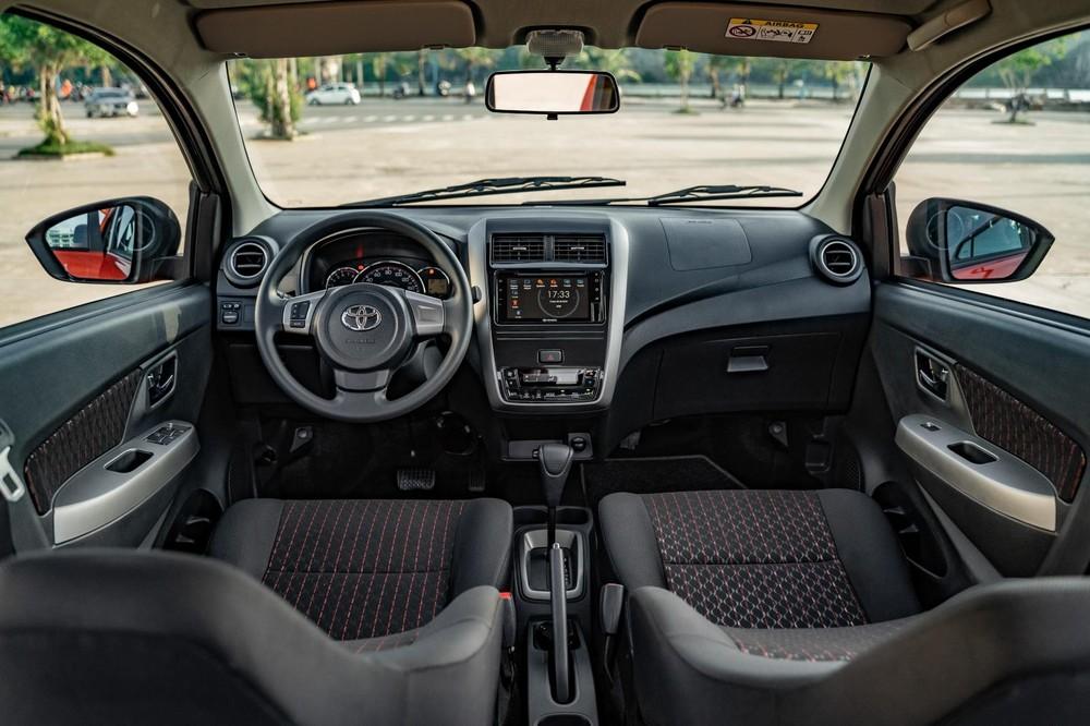 Nội thất của chiếc xeWigo 2020 cũng có sự nâng cấp so với bản cũ.