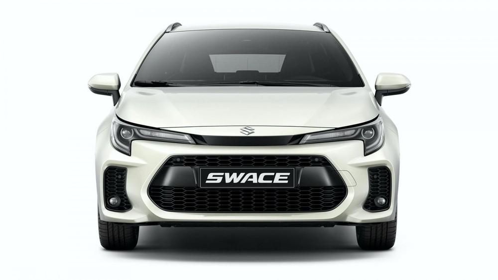 Suzuki Swace 2021 sở hữu mặt ca-lăng khác Toyota Corolla Touring Sports