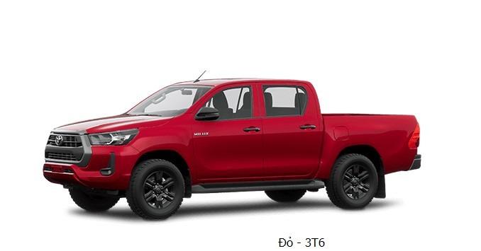Toyota Hilux 2020 phiên bản màu đỏ