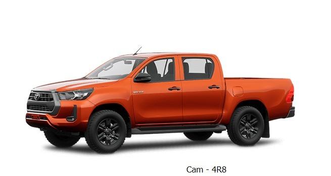 Toyota Hilux 2020 phiên bản màu cam