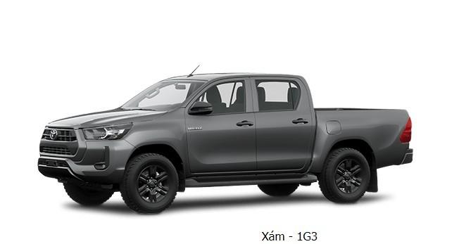 Toyota Hilux 2020 phiên bản màu xám
