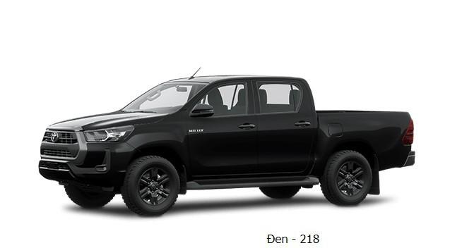 Toyota Hilux 2020 phiên bản màu đen
