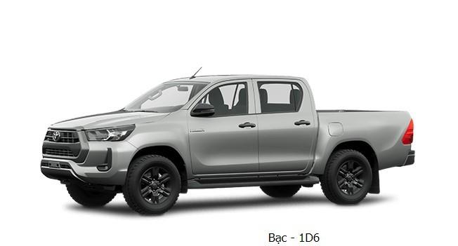 Toyota Hilux 2020 phiên bản màu bạc