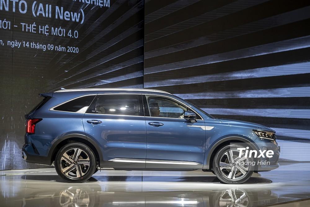 KIA Sorento mới 2020 có kích thước lớn nhất phân khúc SUV 7 chỗ
