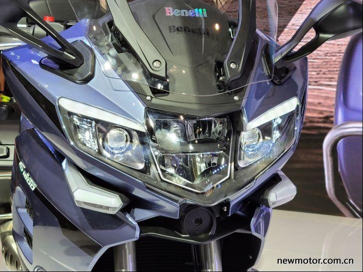 Cụm đèn pha Benelli 1200GT