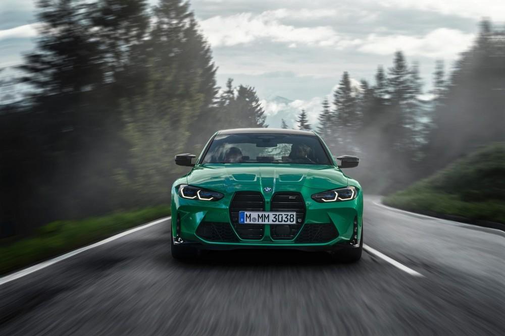 BMW M3 và M4 2021 có đầu xe gây tranh cãi