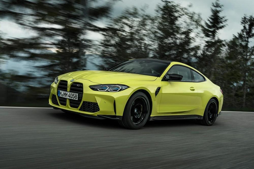 BMW M3 và M4 2021 còn được trang bị hệ thống treo Adaptive M tiêu chuẩn