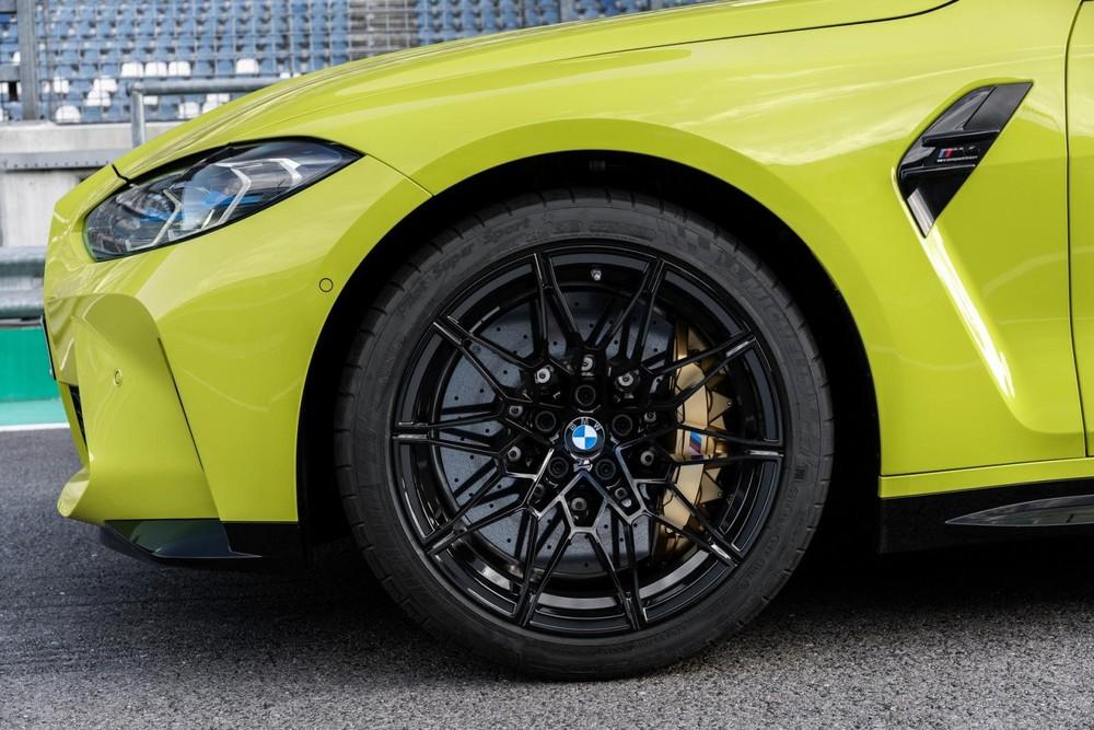 Phanh gốm-carbon của BMW M3 và M4 2021
