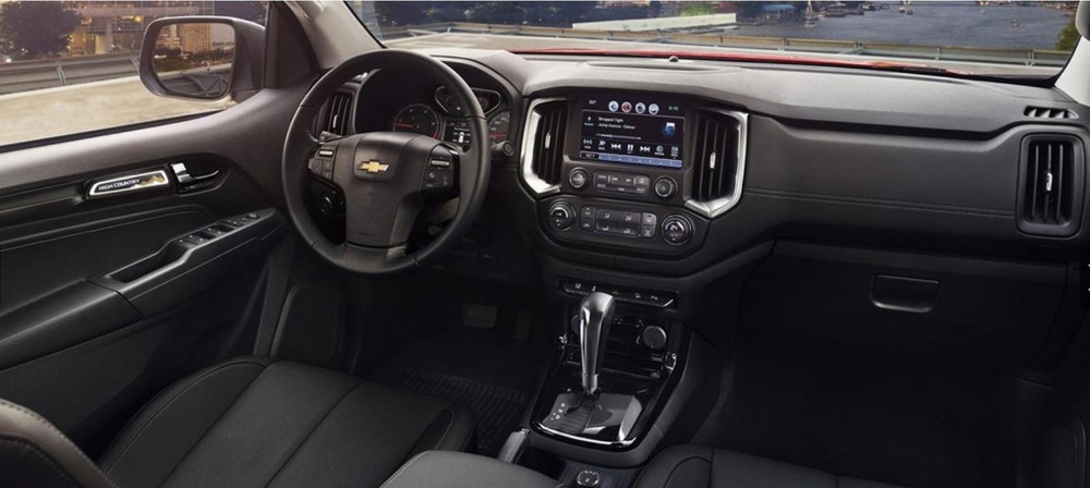 Nội thất của Chevrolet Colorado