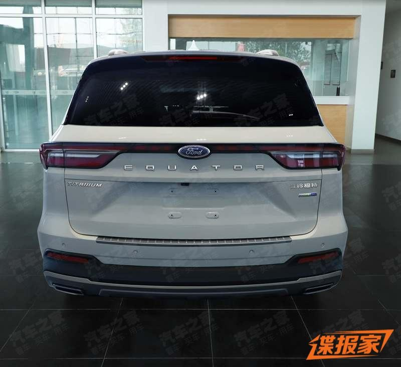 Thiết kế đuôi xe của Ford Equator mới