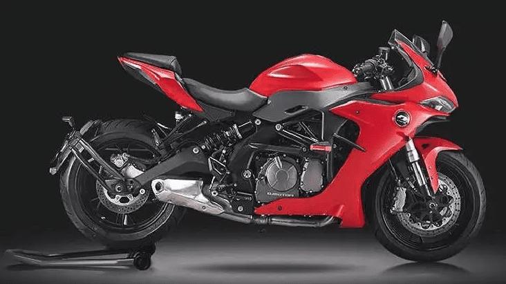 Benelli 600RR mang thiết kế sport bike hạng trung
