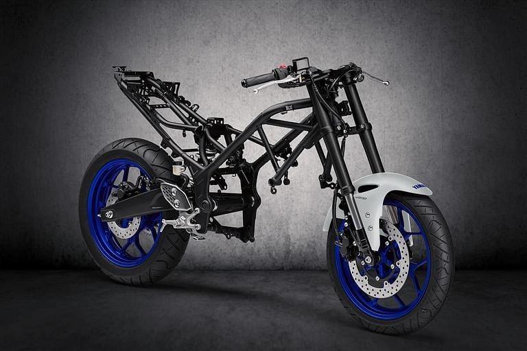 Yamaha Tracer 300 sẽ sử dụng khung sườn và dàn chân của MT-03
