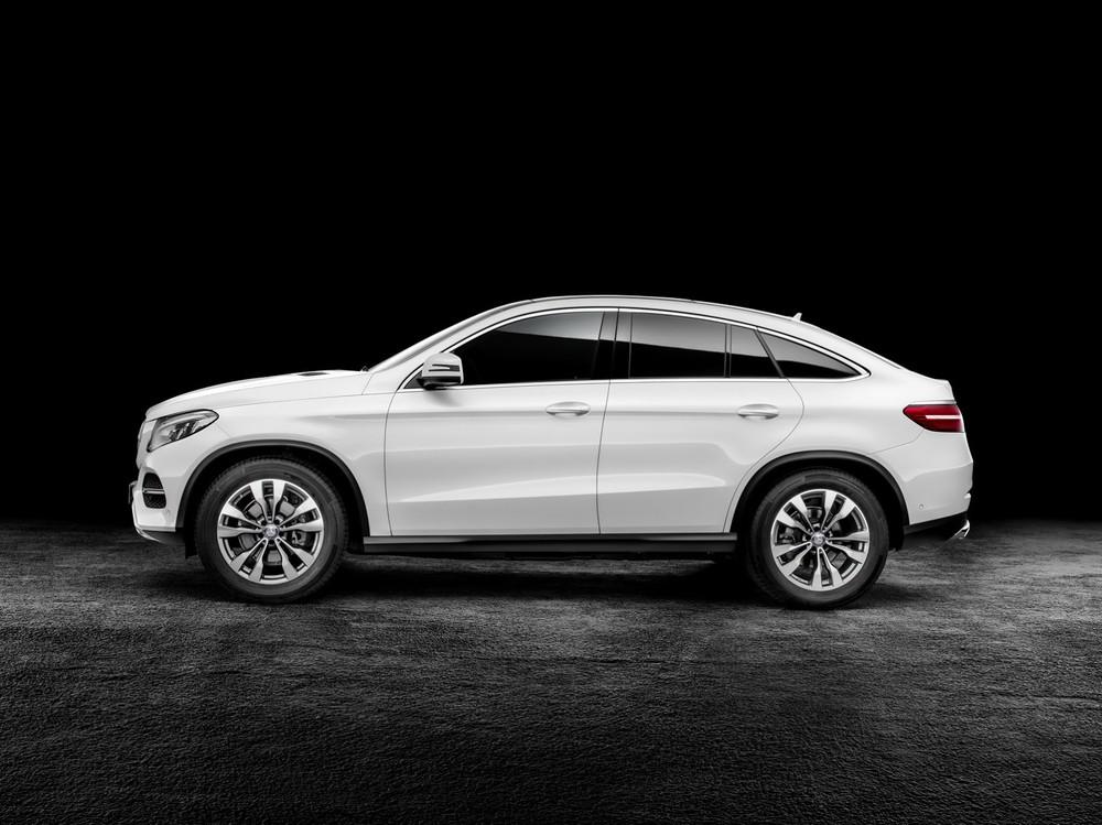 Thiết kế ngoại thất của Mercedes GLE Class 2020.