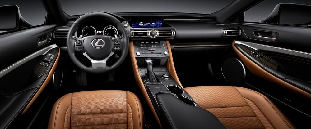 Nội thất sang trọng bên trong Lexus RC300