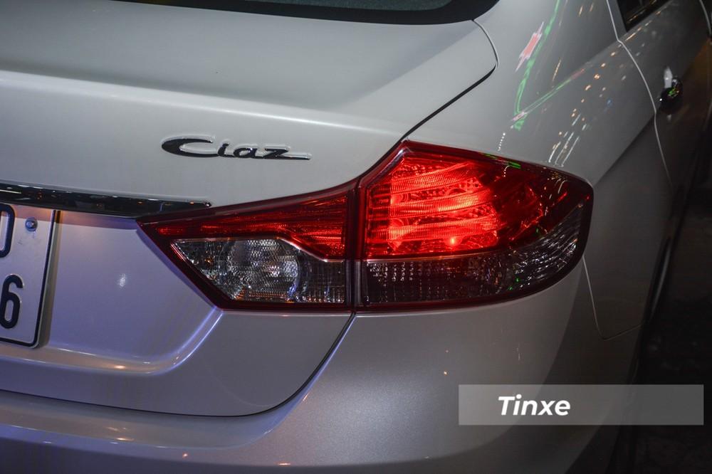 Giá xe Suzuki Ciaz - Thiết kế đuôi xe Suzuki Ciaz 2021