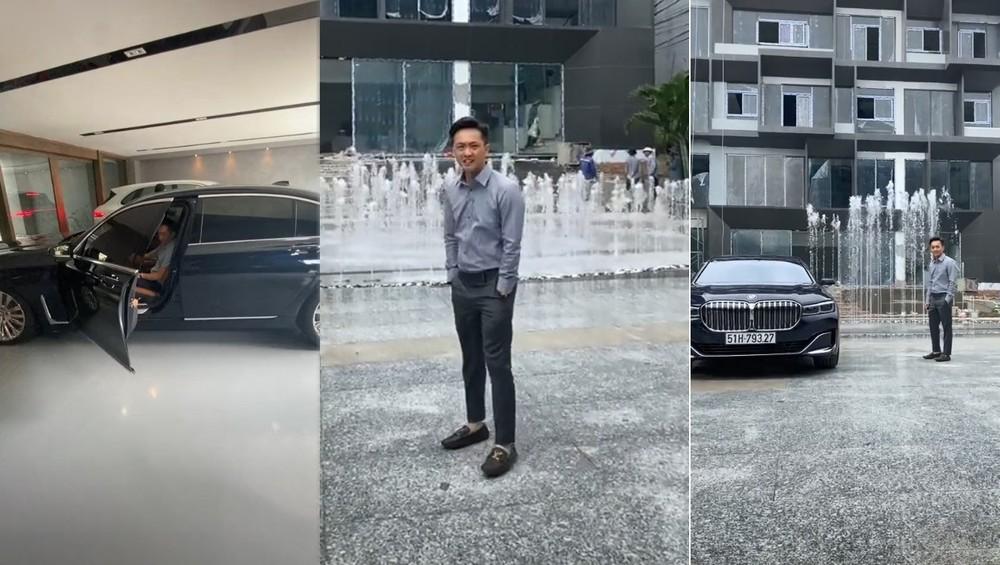 Cường Đô-la cùng chiếc BMW 740Li Pure Excellence 2020 hơn 6,2 tỷ đồng của mình