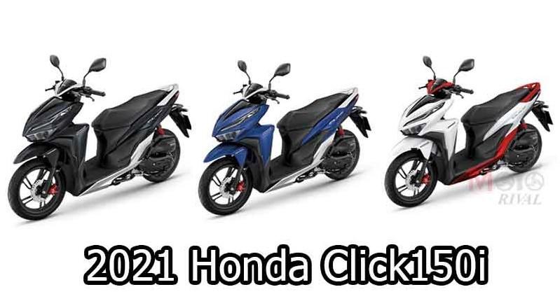 Honda Click sẽ có phiên bản mới với động cơ 160 phân khối