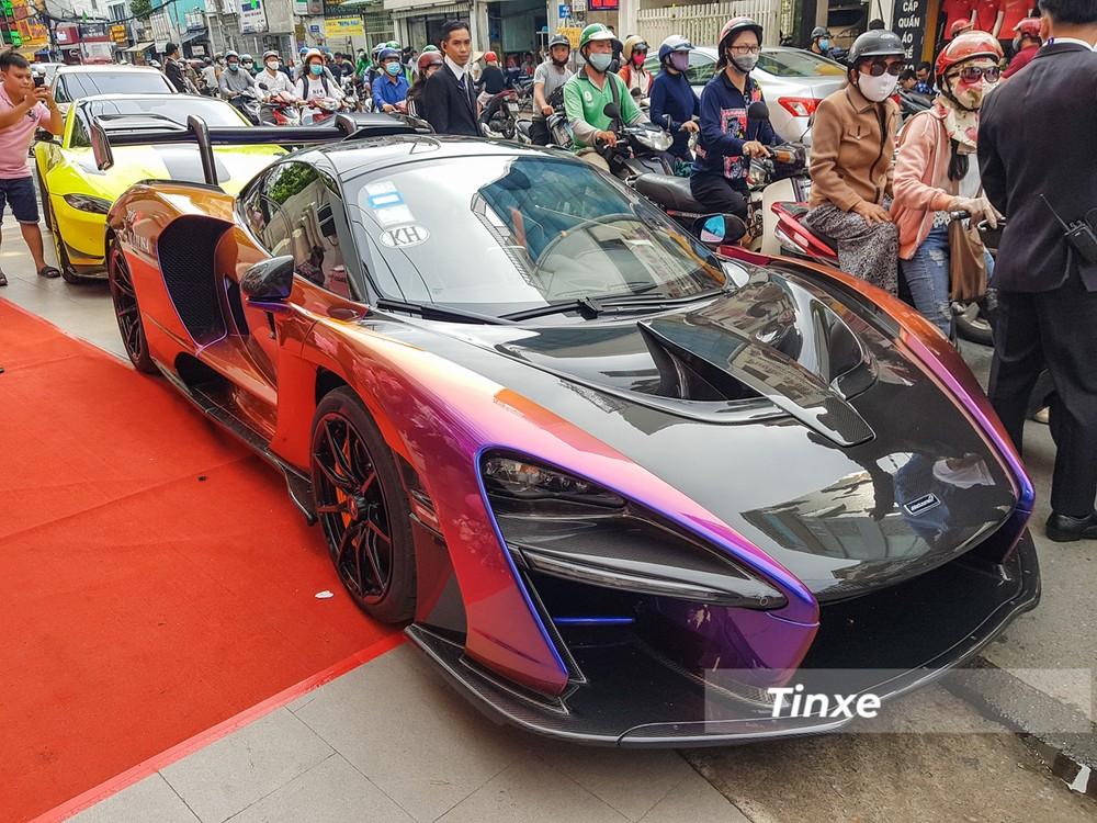 McLaren Senna của đại gia Việt sở hữu 3 chi tiết này giúp xe trở thành hàng độc tại châu Á