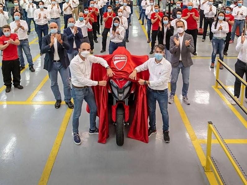 Ducati Multistrada V4 đã chính thức đi vào sản xuất