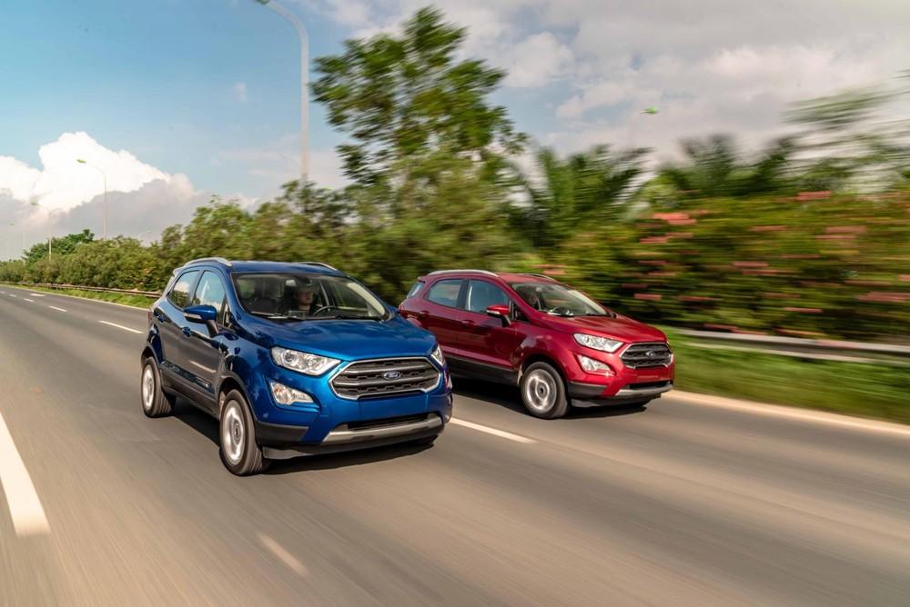 Giá xe Ford EcoSport khởi điểm từ 603 triệu đồng.