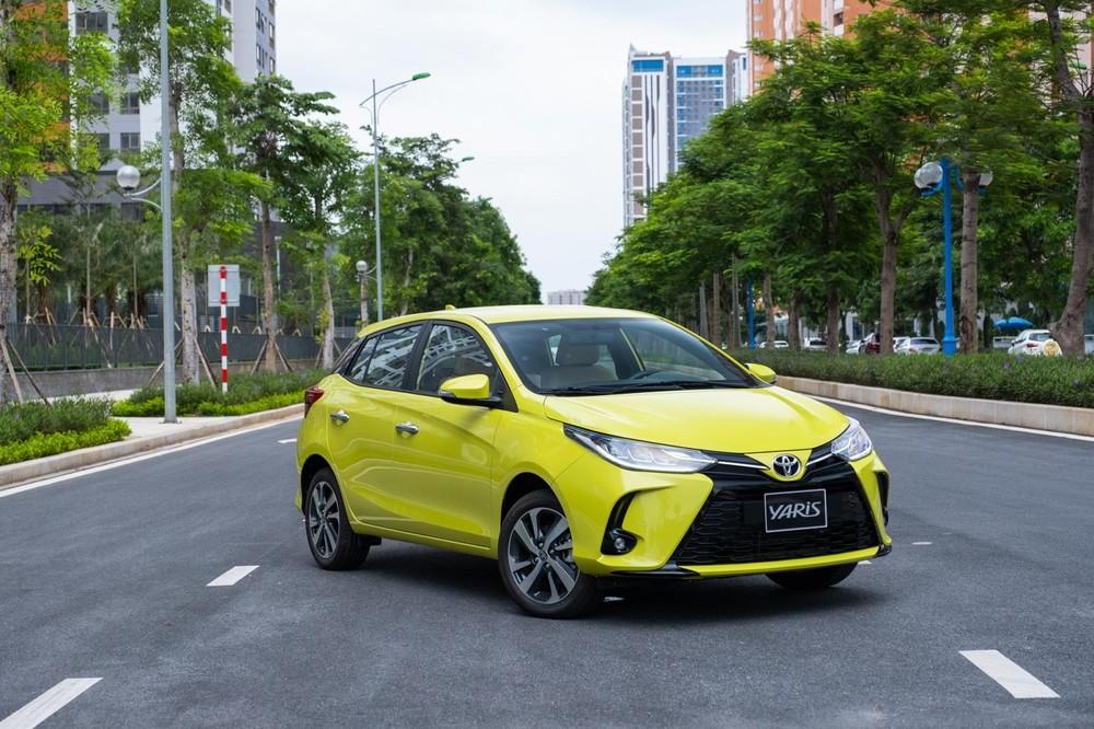Xe Toyota Yaris 2020 mới nhất.
