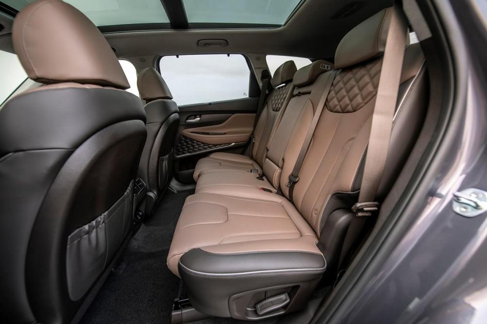 Giá xe Hyundai Santa Fe 2021 tại Mỹ chưa được công bố