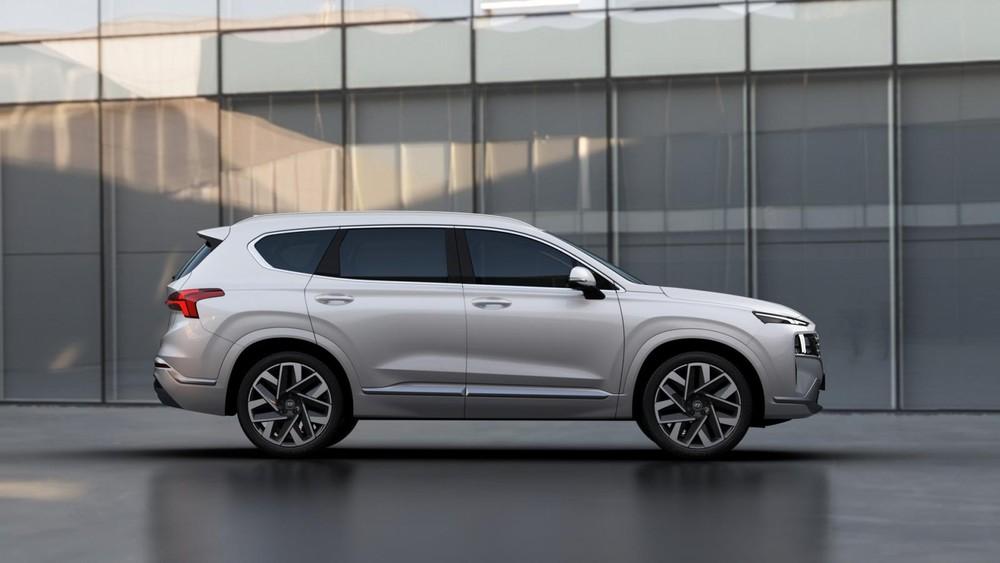 Hyundai Santa Fe Calligraphy 2021 có bộ vành riêng