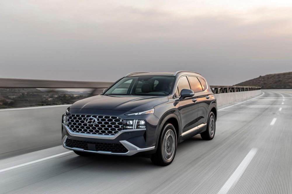 Hyundai Santa Fe 2021 ra mắt thị trường Mỹ