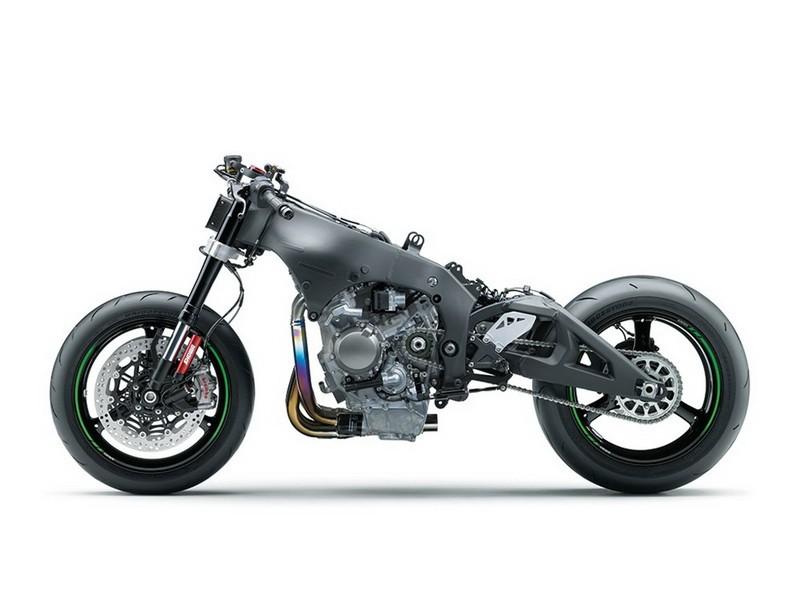 Khung sườn động cơ Kawasaki ZX-10R 2021 sẽ được giữ nguyên